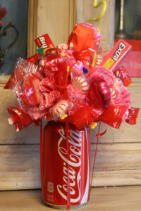 Valentine Candy Bouquet DIY