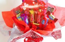 Valentine Candy Bouquet Ideas