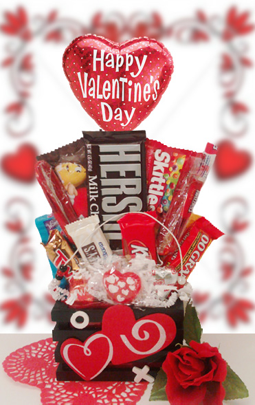 Toll Valentine Candy Bouquet