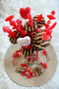 Valentine Candy Bouquets Idea