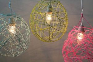 Yarn Balloon Lantern