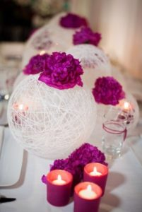 Yarn Lantern Wedding