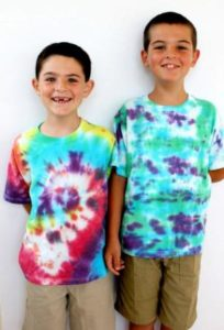 How to Make Tie Dye Shirts