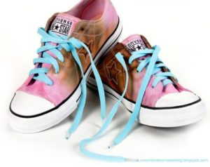 How to Tie Dye Converse