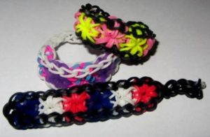 Loom Band Starburst Bracelets