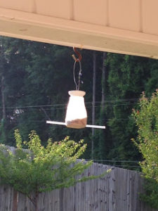 Mc Donald's Milk Jug Bird Feeder