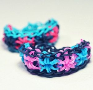 Rubberbands Starburst Bracelets