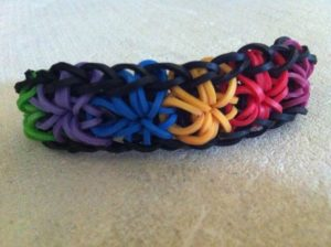 Starburst Bracelet Without Loom