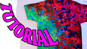 Tie Dye Folding Techniques with pictures