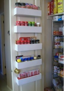 DIY Door Spice Rack