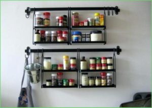 DIY Spice Rack Shelf