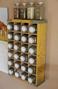 DIY Spice Racks