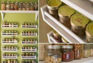 DIY Wall Spice Rack