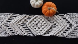 How to Macrame a Table Runner