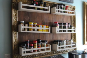 Ikea Spice Rack DIY
