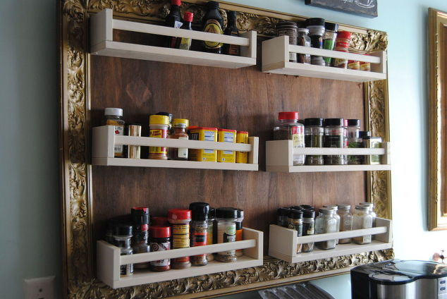 Spice Rack 32 Creative Diy Ideas Amp Tutorials