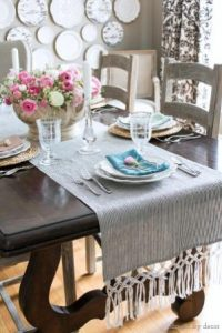 Macramé Table Runner Pattern