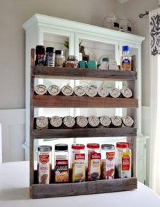Wooden Spice Rack DIY