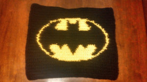 Batman Crochet Blanket