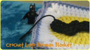 Crochet Batman Baby Blanket