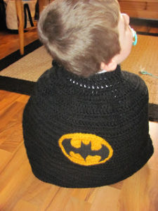 Free Crochet Batman Cape Blanket