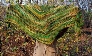 Crochet Fishnet Shawl