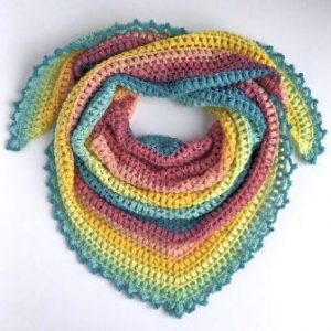 Crochet Hippie Shawl Pattern