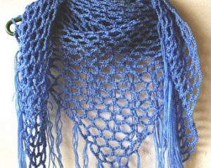 Crochet Mesh Shawl Pattern