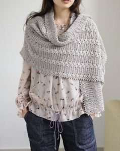 Crochet Nursing Shawl Pattern