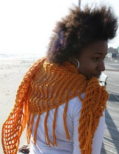 Crochet Shawl Sweet November