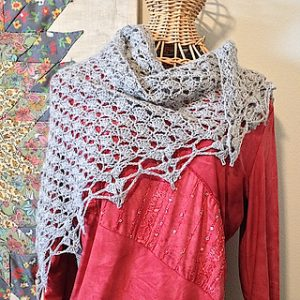 Crochet Shell Pattern Shawl