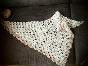 Crochet Wedding Shawl Pattern