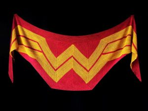 Crochet Wonder Woman Shawl
