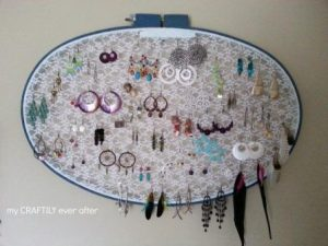 Earring Holder Display Ideas