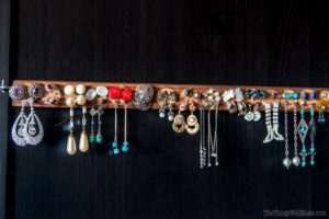 Earring Holder Ideas