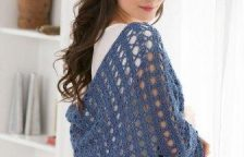Easy Crocheted Shawl Pattern