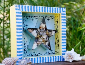 How to Make Seashell Shadow Box