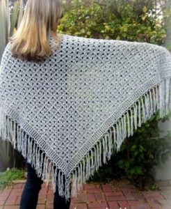 Lacy Crochet Shawl Pattern