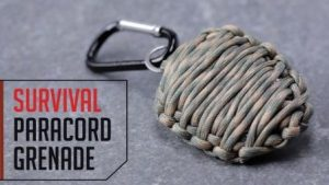 Paracord Survival Grenade DIY