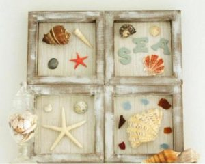 Seashell Shadow Box DIY