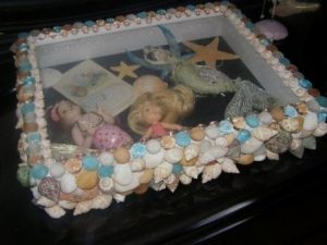 Seashell Shadow Box Ideas