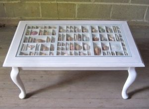 Seashell Shadow Box Tables