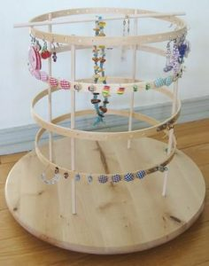 Spinning Earring Holder