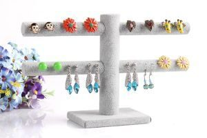 T-Shaped Earring Holder