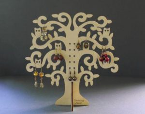 Tree Earring Holder