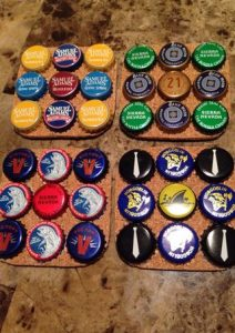 Beer Cap Coaster Cork