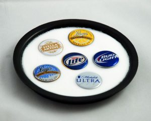 Bottle Cap Coaster Ideas