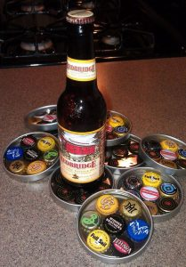 Bottle Cap Coaster Mason jar