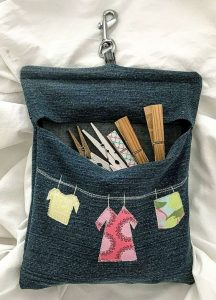Clothes Bag from Jeans
