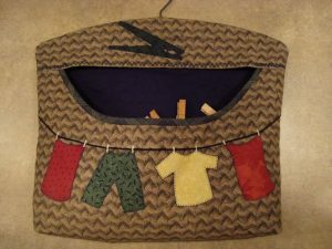 Clothespin Bag for Pegs